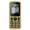 Konrow Chipo 3 - Mobile - Ecran 1.8'' - Photo - Bluetooth - Double Sim - Moka
