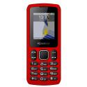 Konrow Chipo 3 - Mobile - Ecran 1.8'' - Photo - Bluetooth - Double Sim - Rouge