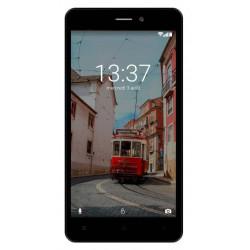 Konrow Link 55 - Smartphone 4G LTE - Android 6.0 Marshmallow - Ecran 5.5'' - 8Go - Double Som - Noir