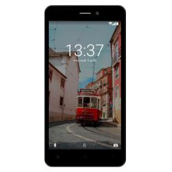 Konrow Link 55 - Smartphone 4G LTE - Android 6.0 Marshmallow - Ecran 5.5'' - 8Go - Double Som - Bleu Nuit