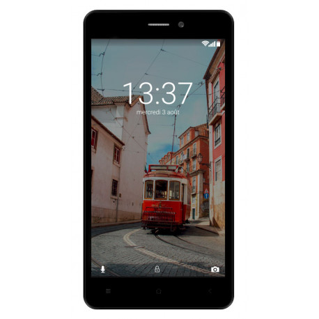 Konrow Link 55 - Smartphone 4G LTE - Android 6.0 Marshmallow - Ecran 5.5'' - 8Go - Double Som - Bleu Nuit