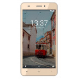 Konrow Link 55 - Smartphone 4G LTE - Android 6.0 Marshmallow - Ecran 5.5'' - 8Go - Double Sim - Or