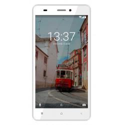 Konrow Link 55 - Android 6.0 - 4G LTE - Ecran 5.5'' - 8Go - Double Sim - Blanc