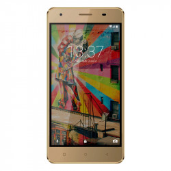 Konrow Link 50 - Smartphone 4G LTE - Android 6.0 - Ecran 5'' - 8Go - Double Sim - Or