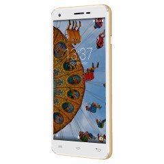 Konrow Cool 55 - Smartphone Android 6.0 - Ecran IPS 5.5'' - 8Go - Double Sim - Or