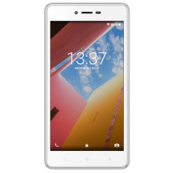 Konrow Just 5 - Android 7.0 - Ecran IPS 5'' - 8Go - Double Sim - Blanc