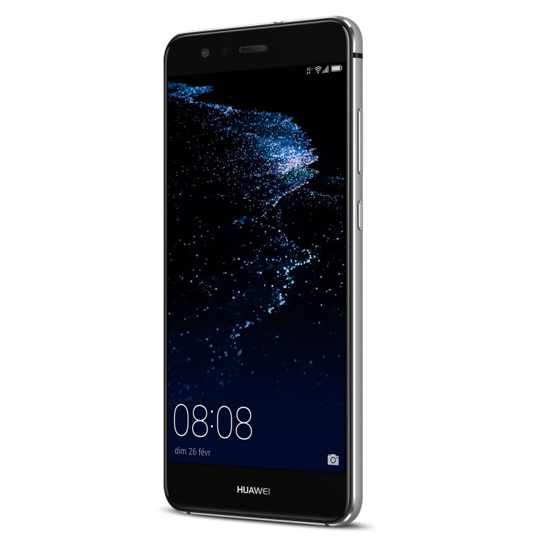 huawei p10 lite double sim 32go 3go ram noir. Black Bedroom Furniture Sets. Home Design Ideas