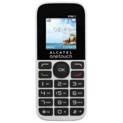 Alcatel Onetouch 1016D Double Sim Blanc