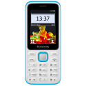Konrow Sweet - Compact - Ecran 2.4'' - Double Sim - Radio FM - Blanc / Bleu