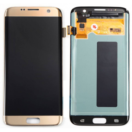 Écran LCD Original Pour Samsung G935F Galaxy S7 EDGE Or