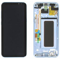 Écran LCD Original Pour Samsung G955 Galaxy S8 Plus Bleu