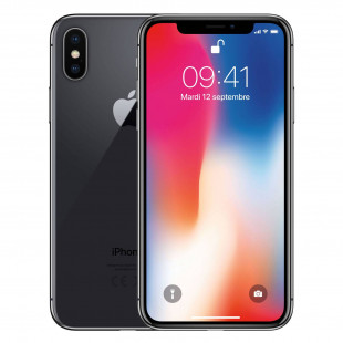 iPhone X 64Go Gris Sideral