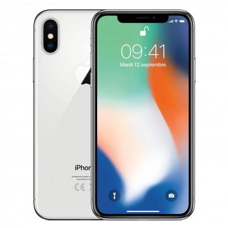 iPhone X 64Go Argent