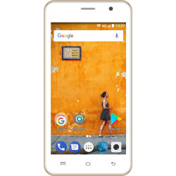 Konrow Easy Touch - Smartphone Android 7.0 Nougat - Ecran 5'' - Double Sim -  8Go, 1Go RAM - Or