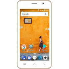 Konrow Easy Touch - Smartphone Android 7.0 Nougat - Ecran 5'' - Double Sim -  8Go, 1Go RAM - Or