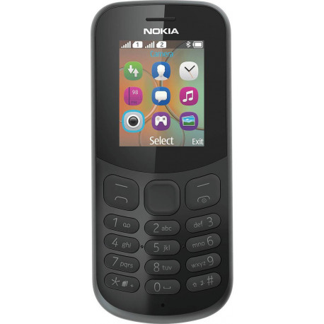 Nokia 130 (2017) - Double Sim - Noir