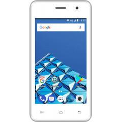 Konrow Easy One - Smartphone Android - 4G - Ecran 4'' - Double Sim - 8Go, 1Go RAM - Blanc
