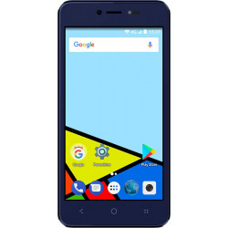 Konrow Easy Feel - Smartphone Android - 4G - Ecran 5'' - Double Sim - 16Go, 1Go RAM - Bleu