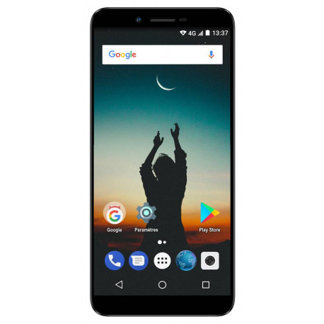 Konrow Sky - Smartphone Android - 4G - Écran 5.5'' - 16Go, 2Go RAM - Noir