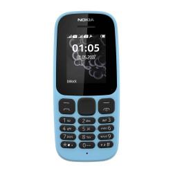 Nokia 105 (2017) Double Sim Bleu