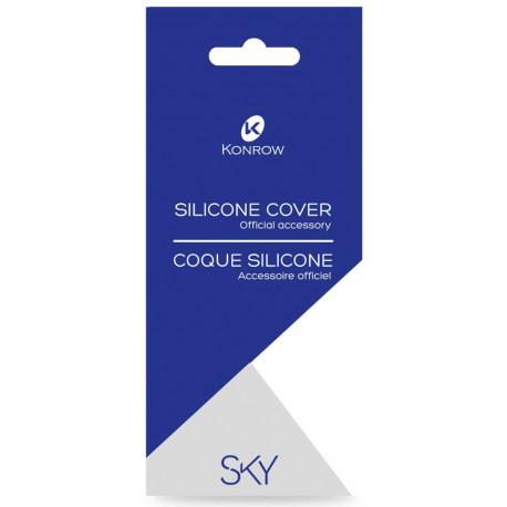 Coque Silicone Transparente Officiel pour Konrow Sky