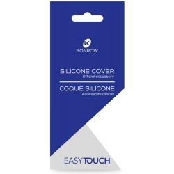 Coque Silicone Transparente Officiel pour Konrow Easy Touch