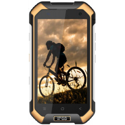 Blackview BV6000s - Double Sim - 16 Go, 2Go RAM - Jaune