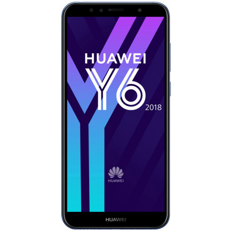 Huawei Y6 (2018) - Double Sim - 16Go, 2Go RAM - Bleu