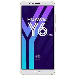 Huawei Y6 (2018) - Double Sim - 16Go, 2Go RAM - Or