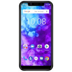 Konrow Must - Smartphone Android - 4G - Écran 5.85'' - Double Sim - 64Go, 4Go RAM - Noir