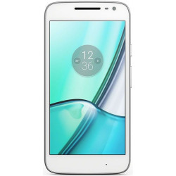 Motorola XT1602 Moto G4 PLAY - Double SIM - 16Go, 2Go RAM - Blanc