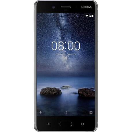 Nokia 8 - 64Go, 4Go RAM - Acier