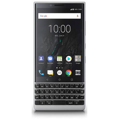 Blackberry KEY2 - 64Go, 6Go RAM - AZERTY - Argent