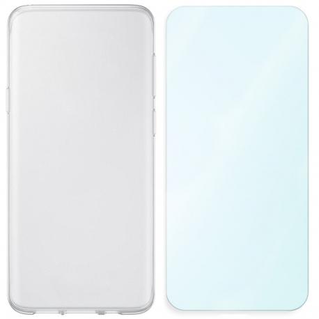 Kit de protection (Coque & Verre trempé) Pour Samsung J320 Galaxy J3 2016
