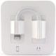 Apple MMTN2 Écouteurs EarPods d'Origine Pour Iphone (Lightning) et Adaptateur Lightning vers Jack - Blanc