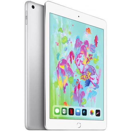 iPad 9.7 (2018 - 6e Génération) 32Go - 4G/LTE - Argent