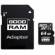 Carte Mémoire GoodRAM 64 Go (Avec Adaptateur carte SD)