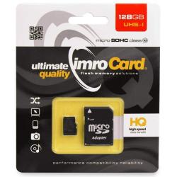 Carte Mémoire Imro 128 Go (Avec Adaptateur carte SD)