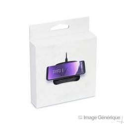 Chargeur à Induction Rapide (5V, 2A) - Noir - Blister