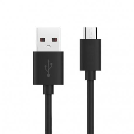 Samsung ECB-DU4ABE - Câble Data Micro USB - 1m - Noir (Compatible Android, En Vrac)