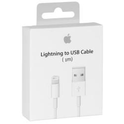 Apple MQUE2 - Câble Lightning Original  - 1m - Blanc (Blister)