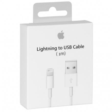 Câble Data Lightning Original Blanc