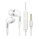 Samsung EHS64AVFWE - Écouteur Intra Auriculaire - Prise Jack 3.5 - Telecommande - Blanc (En Vrac)
