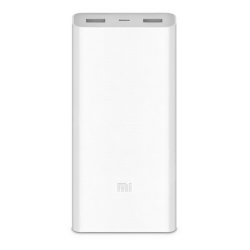Xiaomi Mi Power Bank 2C - 20000mAh - 2 Ports USB - Blanc