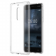 Coque Silicone Transparente Officiel pour Nokia 5 (Blister)