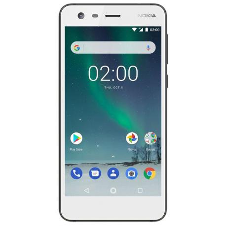 Nokia 2 - Double Sim - Blanc