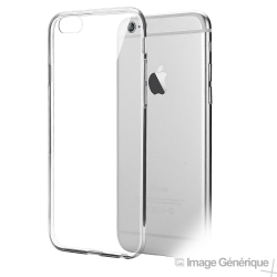 Coque Silicone Transparente pour iPhone 6 Plus