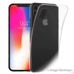 Coque Silicone Transparente pour iPhone X