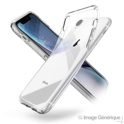 Coque Silicone Transparente pour iPhone XR