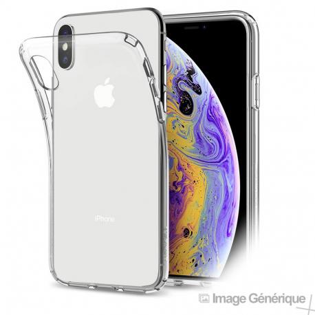 coque iphone xs silicone transparent